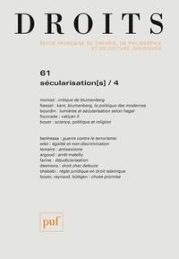Frédéric Mériot - Droits N° 61/2015 : Sécularisation(s) - Tome 4.