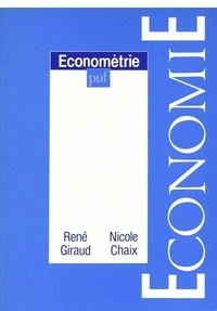 René Giraud et Nicole Chaix - Econométrie.