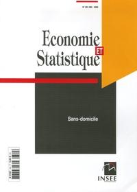 Marie-Thérèse Join-Lambert et Cécile Brousse - Economie et statistique N° 391-392/2006 : Sans-domicile.