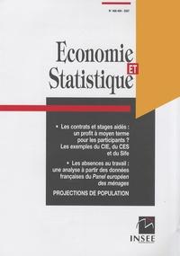 INSEE - Economie et statistique N° 408-409/2007 : .