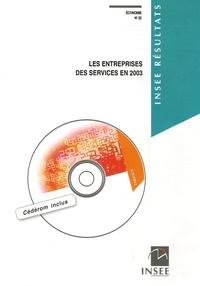 Jean-Michel Charpin - Economie N° 22 : Les entreprises des services en 2003. 1 Cédérom