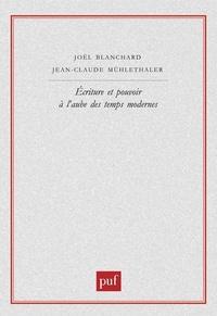 Jean-Claude Mühlethaler et Joël Blanchard - .