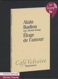 Alain Badiou - Eloge de l'amour. 1 CD audio