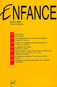 Mélanie Perron et Pierre Gosselin - Enfance Volume 56 - 2/2004 : .