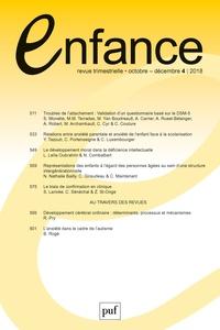 Jacqueline Nadel - Enfance Volume 70 N° 4, octo : .