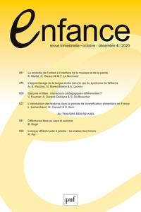 Jacqueline Nadel - Enfance Volume 72 N° 4, octo : .