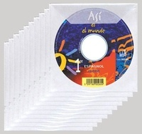 Reynald Montaigu et Elisabeth Mazoyer - Espagnol 1e Asi el mundo - Pack. 10 CD audio
