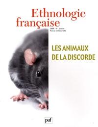 Marie Roué et Vanessa Manceron - Ethnologie française N° 1, Janvier 2009 : Les animaux de la discorde.