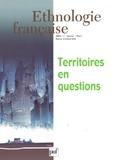 Pierre Alphandéry - Ethnologie française N° 1, Janvier-mars 2 : Territoires en question.