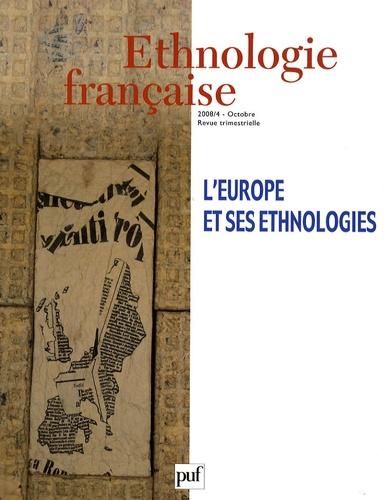 Martine Segalen et Georges Augustins - Ethnologie française N° 4, Octobre-Décemb : L'Europe et ses ethnologies.