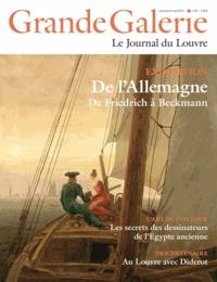 Henri Loyrette - Grande Galerie N° 23, Mars-avril-ma : De l'Allemagne - De Friedrich à Beckmann.