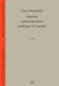Guy Antonetti - Histoire contemporaine, politique et sociale.