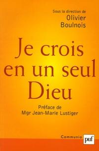 Olivier Boulnois - Je crois en un seul Dieu - Hans Urs von Balthasar et Communio commentent le Credo.