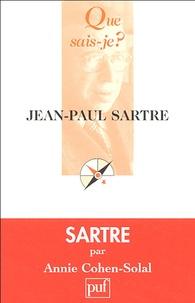 Annie Cohen-Solal - Jean-Paul Sartre.