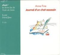 Anne Fine - Journal d'un chat assassin. 1 CD audio