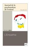 Monique Labrune - Journal de la psychanalyse de l'enfant Volume 3 N° 2/2013 : L'empathie.