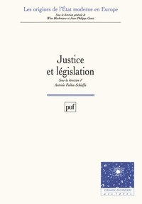 Antonio Padoa-Schioffa - Justice et législation.
