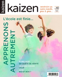 Pascal Greboval - Kaizen N° 40, septembre-oct : Apprenons autrement.