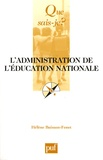 Hélène Buisson-Fenet - L'administration de l'Education nationale.