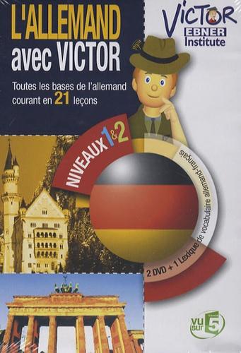 Anonyme - L'allemand avec Victor - 2 DVD Vidéo.