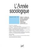Eric Letonturier - L'Année sociologique N° 61-2 : Valeurs, métier et action - Evolutions et permanences de l'institution militaire.