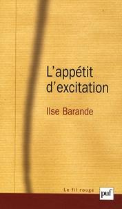 Ilse Barande - L'appétit d'excitation.