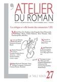 Michel Host et Eric Naulleau - L'atelier du roman N° 27, Septembre 200 : La critique a-t-elle besoin des romanciers ? - 2e partie.