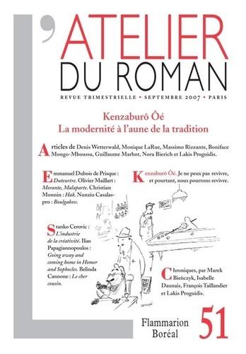 Denis Wetterwald - L'atelier du roman N° 51, Septembre 200 : Kenzaburô Oé - La modernité à l'aune de la tradition.
