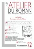 Sempé et Isabelle Daunais - L'atelier du roman N° 72, Décembre 2012 : Ivo Andric - Pour ne pas oublier les Balkans.