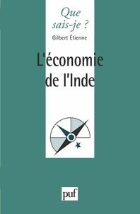 Gilbert Etienne - L'économie de l'Inde.