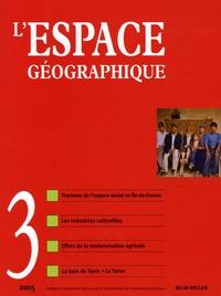 Roger Brunet - L'espace géographique Tome 34 N° 3, 2005 : .