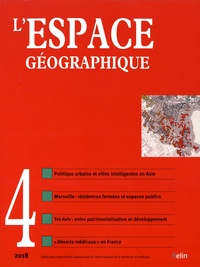 Olivier Orain et Catherine Rhein - L'espace géographique Tome 47 N° 4, ocotbr : .