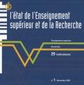 DEPP - L'Etat de l'Enseignement Supérieur et de la Recherche en France N° 1 : .