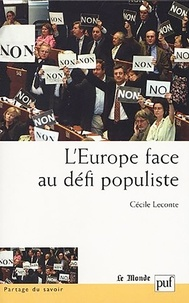Cécile Leconte - L'Europe face au défi populiste.