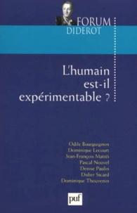 Pierre Fédida - L'humain est-il expérimentable ?.
