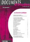 Serge Salon et Jean-Charles Savignac - La fonction publique.