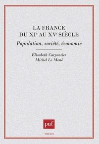 Michel Le Mené et Elisabeth Carpentier - .