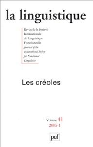 Marie-Christine Hazaël-Massieux et Dominique Fattier - La linguistique Volume 41 N° 1/2005 : Les créoles.