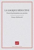 Georges Kalinowski - La logique déductive - Essai de présentation aux juristes.