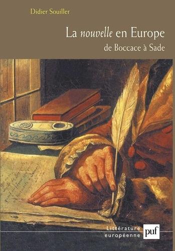 Didier Souiller - La nouvelle en Europe - De Boccace à Sade.