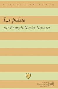 François-Xavier Hervouët - La poésie.