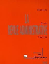 François Monnier et Guy Thuillier - La Revue administrative N° 359, Septembre 20 : .