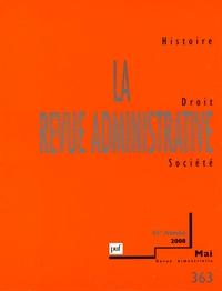 Pierre Agron et Jean-François Auby - La Revue administrative N° 363, mai 2008 : .