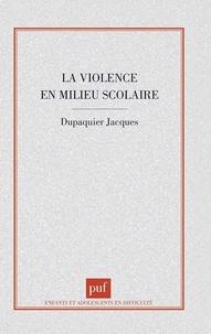 La violence en milieu scolaire - [rapport.pdf