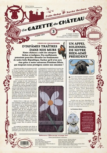 Félix Delep et Xavier Dorison - Le Château des animaux : La gazette du Château N°3 : .