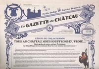 Félix Delep et Xavier Dorison - Le Château des animaux : La gazette du Château N° 6 : .