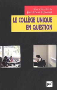 Jean-Louis Derouet - .