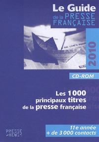 Développement Presse Médias - Le guide de la presse française - CD-ROM.