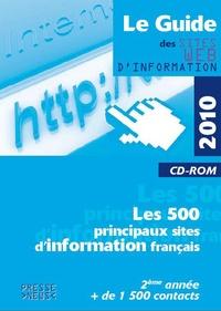Développement Presse Médias - Le Guide des sites web d'information - CD-ROM.