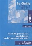 Développement Presse Médias - Le Guide Prestapresse - CD-ROM.